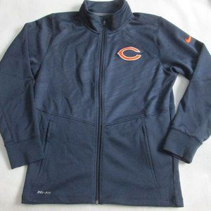 NIKE CHICAGO BEARS ZIP UP SIZE SMALL